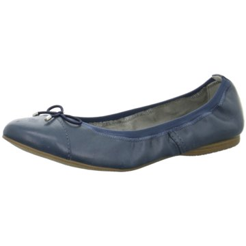 Tamaris Faltbarer Ballerina blau