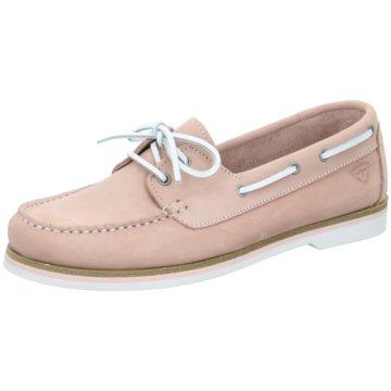 Tamaris Bootsschuh rosa