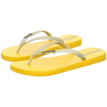 Ipanema Bade-Zehentrenner gelb