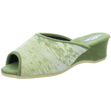 Helmut Trunte Klassische Pantolette grün