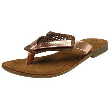 SPM Shoes & Boots Modische Pantoletten gold