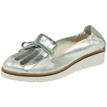 SPM Shoes & Boots Plateau Slipper silber