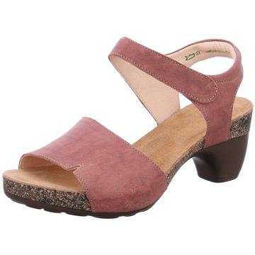 Think Plateau Sandalette rosa