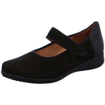 Ganter Komfort Slipper schwarz