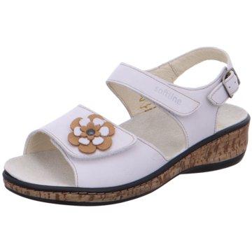 Fidelio Komfort Sandale weiß