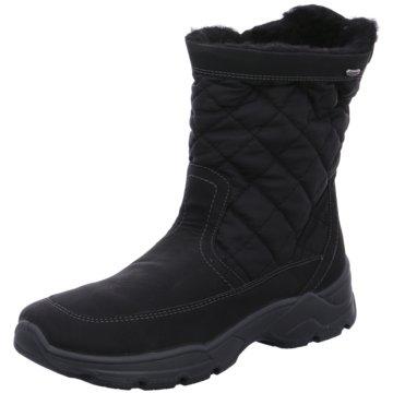 Jenny Komfort Stiefel schwarz