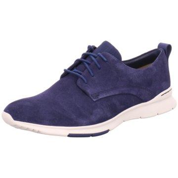 Clarks Sneaker Low blau
