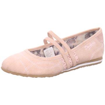 Dockers by Gerli Riemchen Ballerina rosa