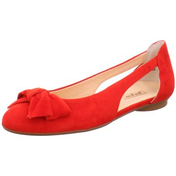 Paul Green Eleganter Ballerina rot