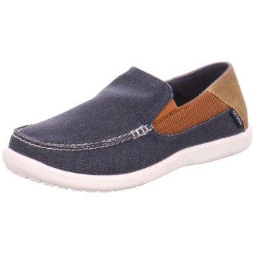 CROCS Komfort Slipper blau