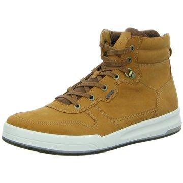 Ecco Sneaker High gelb