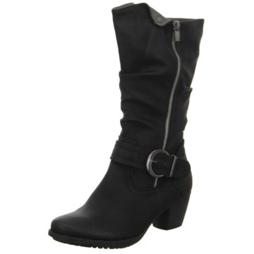 Living Updated - Langschaftstiefel Warmfutter eleganter Boden -  schwarz