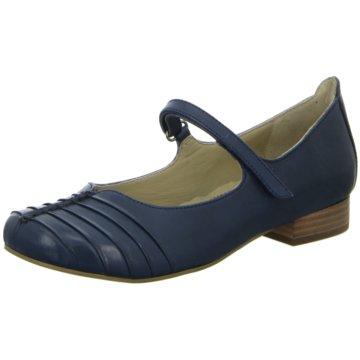 BOXX Riemchen Ballerina blau