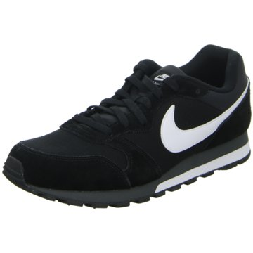 Nike - NIKE MD RUNNER 2,BLACK/WHITE-ANTHRA -