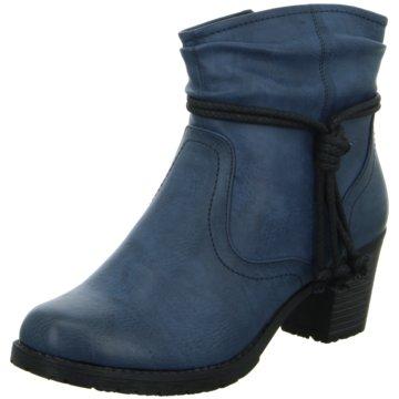 Hengst Footwear Klassische Stiefelette blau