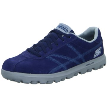 Skechers - Schnürhalbschuh sportlicher Boden sportliche Optik On The Go-Harbor -  blau