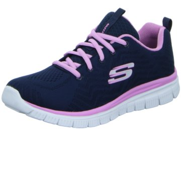 Skechers - Schnürhalbschuh Graceful-Get Connected -  blau