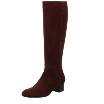 Lamica Overknee Stiefel rot