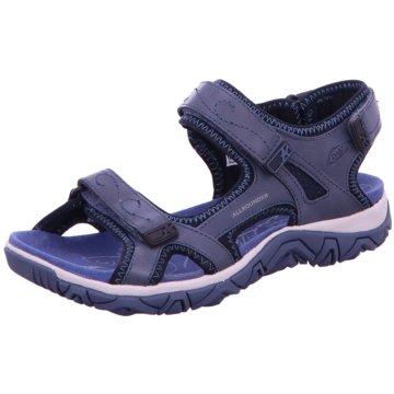 Allrounder by Mephisto Komfort Sandale blau
