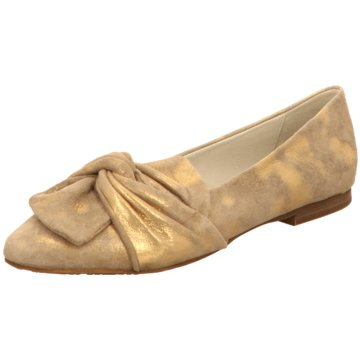 Regarde le ciel Eleganter Ballerina gold