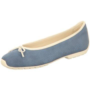 Mania Klassischer Ballerina blau