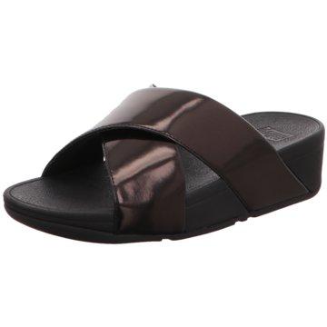 Fit Flop Komfort Pantolette schwarz
