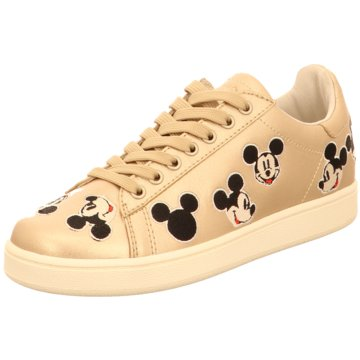 Master of Arts Sneaker Low gold