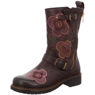 Momino Hoher Stiefel rot