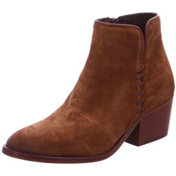 Alpe Woman Shoes Klassische Stiefelette braun