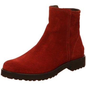 Accatino Klassische Stiefelette rot