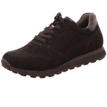 Gabor Sportlicher Schnürschuh schwarz