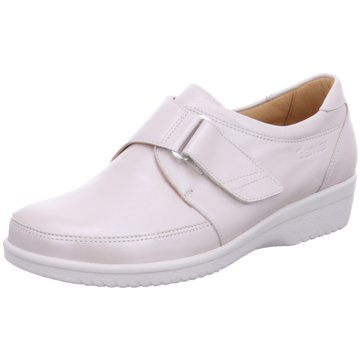 Ganter Komfort Slipper weiß