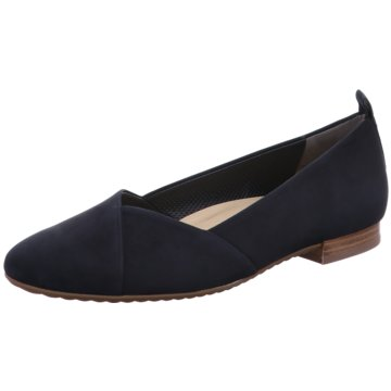 Paul Green Eleganter Ballerina blau