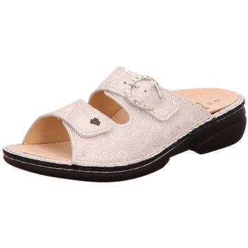 FinnComfort Komfort Pantolette weiß