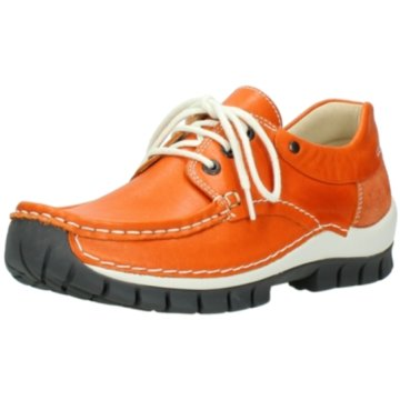 Wolky Komfort Mokassin orange