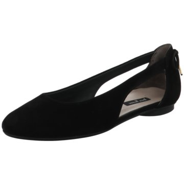 Paul Green Eleganter Ballerina schwarz
