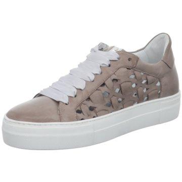 Donna Carolina Modische Sneaker grau