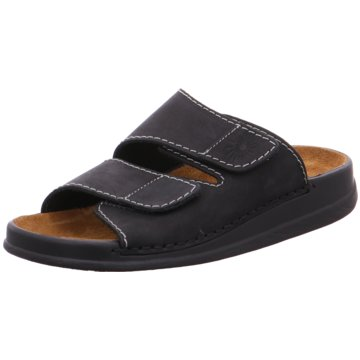 Helix Komfort Sandale schwarz