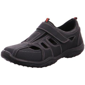 Hengst Footwear Sportlicher Slipper schwarz