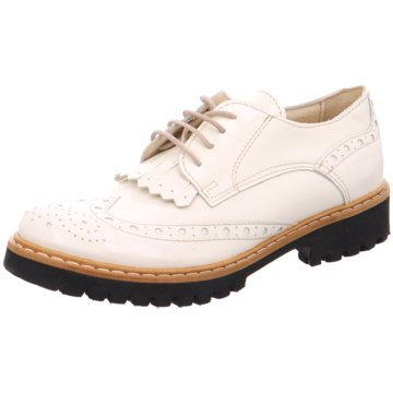Lazamani Modische Schnürschuhe weiß