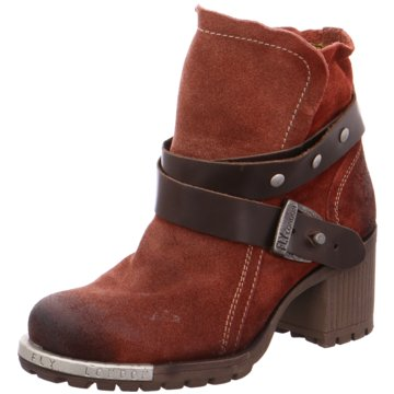 Fly London Plateau Stiefelette rot