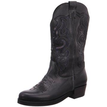 Lazamani Modische Stiefel schwarz