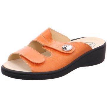 Helix Komfort Pantolette orange