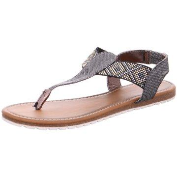Hengst Footwear Zehenstegsandale grau