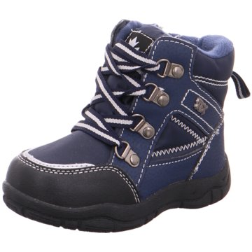 Softwaves Schnürstiefel blau