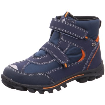 Softwaves Klettstiefel blau