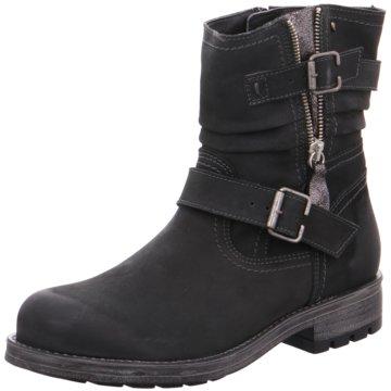 Soft Line Halbhoher Stiefel schwarz