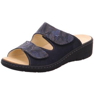 Belvida Komfort Pantolette blau