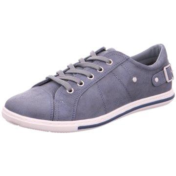 Pep Step Sneaker Low blau