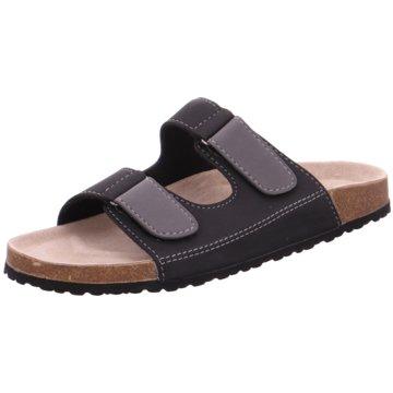 Softwaves Komfort Sandale schwarz